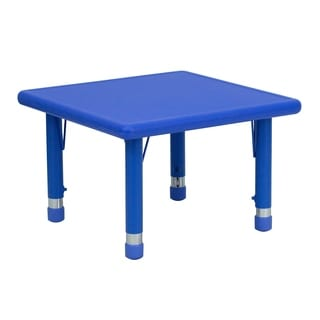 14.5-23.75-Inch Height-adjustable Plastic/ Steel Pre-school Activity Table