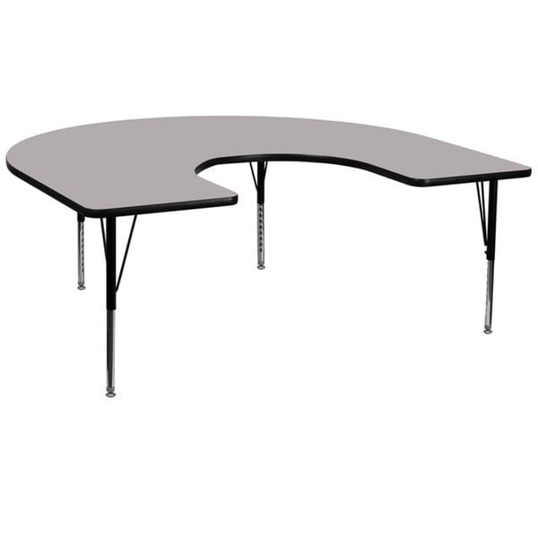 16.125-25.125-Inch Height-adjustable Laminate Pre-school Activity Table