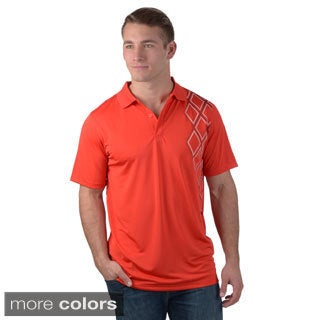 Boston Traveler Men's Printed Wicking Polo Shirt