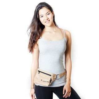 Travel Leather Belt/ Fanny Pack (India)