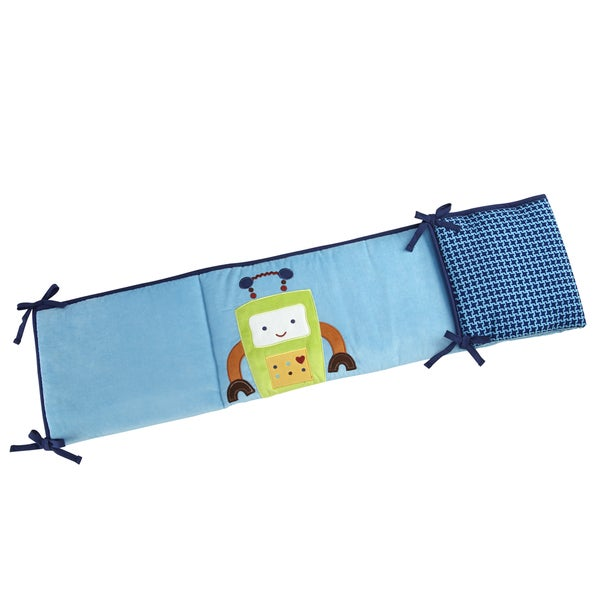 NoJo Baby Bots Traditional Padded Bumper
