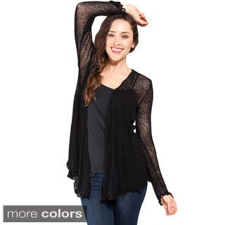 Women's Long Sleeve Light Netted Bali Sweater (Indonesia)