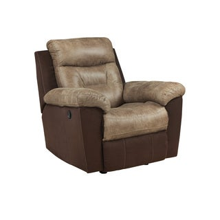 Signature Design by Ashley McLaurin Mocha Rocker Recliner