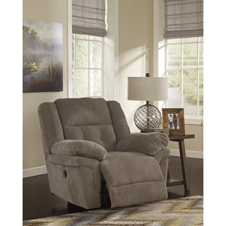 Signature Design by Ashley Family Time Bark Rocker Recliner