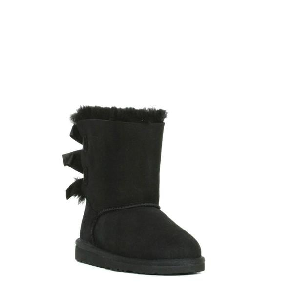 Ugg Women's Baily Bow Black Boots