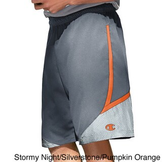 Champion On the Move Men's Basketball Shorts Medium Size in Black/ Silverstone (As Is Item)