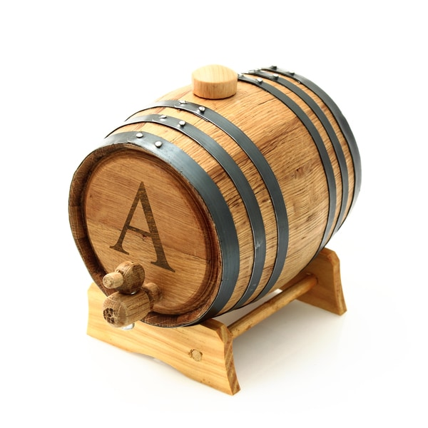 Personalized Oak Bluegrass Barrel