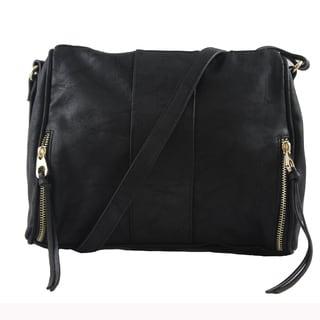 Lithyc 'Avery' Vegan Leather Cross-body Handbag
