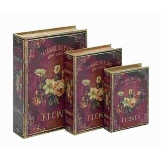 Wood Flaunts Book Box