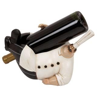Polystone Chef Wine Holder