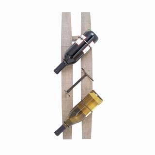 Metal/ Wood Wine Rack