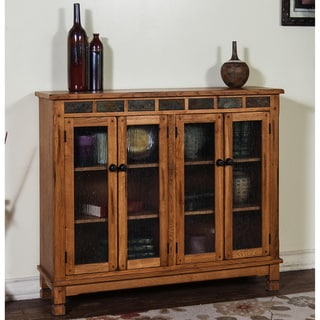 Sunny Designs Sedona Bookcase with 4 Doors