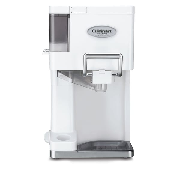Cuisinart ICE-45 White Mix-It-In Soft Serve 1.5-Quart Ice-Cream Maker (Refurbished)