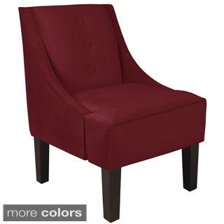 Skyline Furniture Three Button Swoop Arm Chair