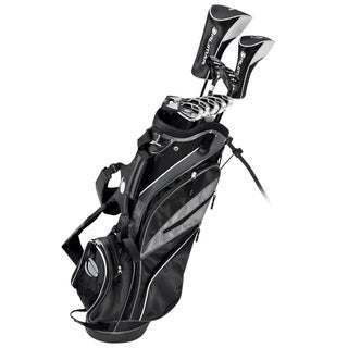 Orlimar Sport ATS Matte Black Complete Golf Set Men's Left Hand Regular Flex, Graphite/Steel