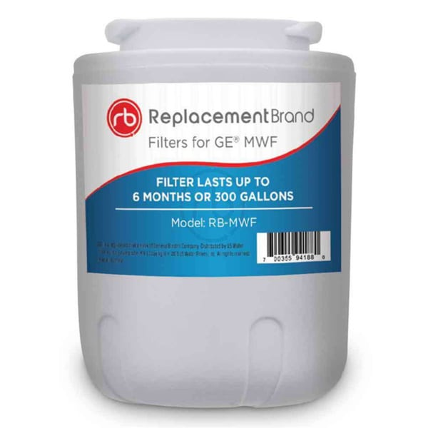ReplacementBrand GE MWF Comparable Refrigerator Water Filter 15210238