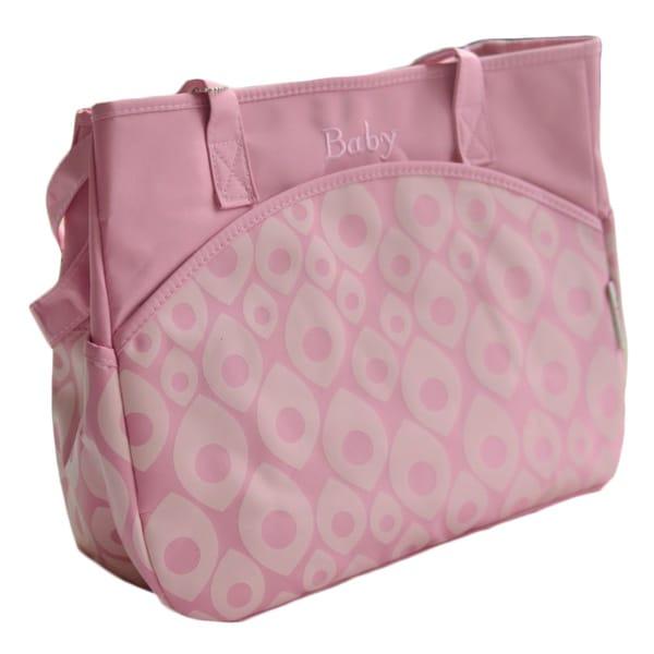 Multi Pocket Diaper Tote Bag