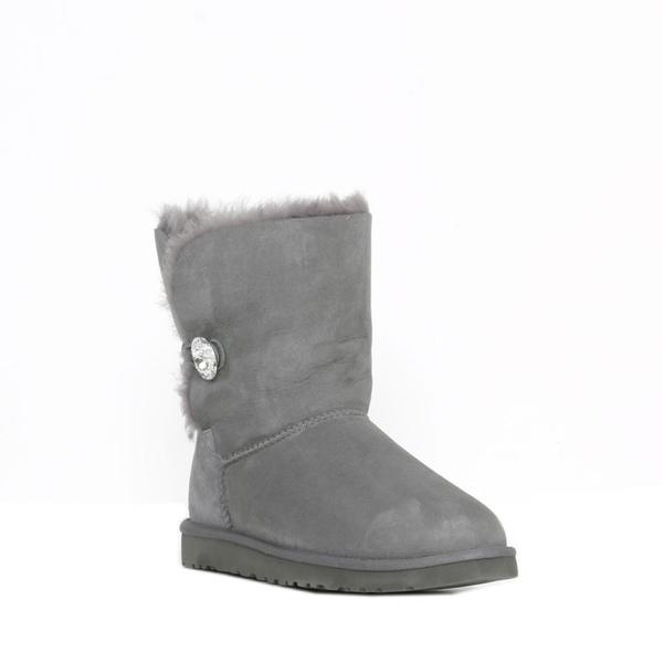 Ugg Women's Baily Button Bling Grey Boots