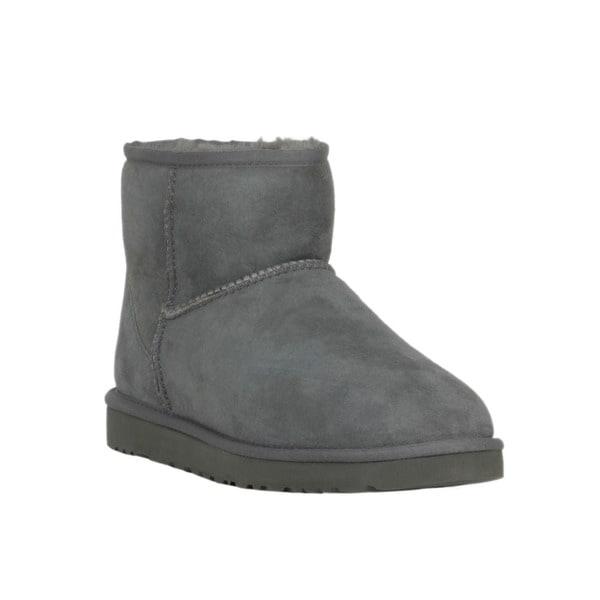 Ugg Women's Classic Mini Grey Boots