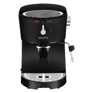 KRUPS XP320050 Black Opio Pump Boiler Espresso Machine (Refurbished)