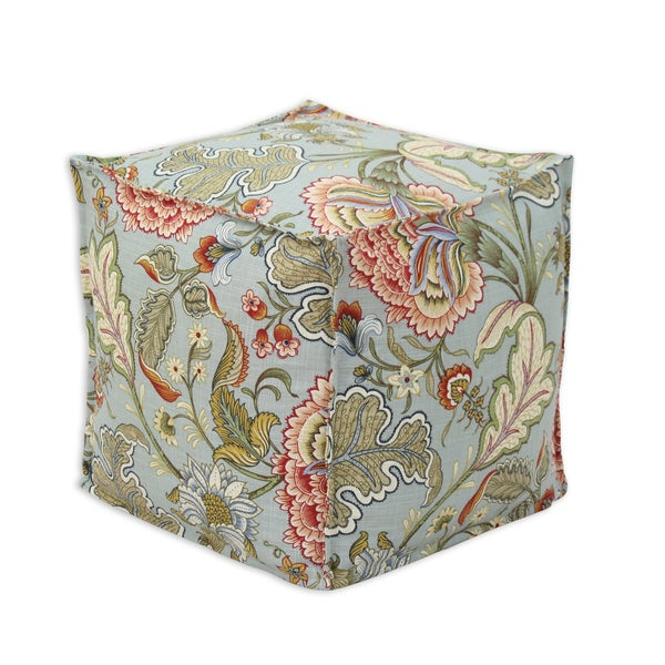 Somette Meadowlark Clay Square Ottoman