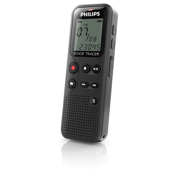 Philips Voice Tracer DVT1100 4GB Digital Voice Recorder