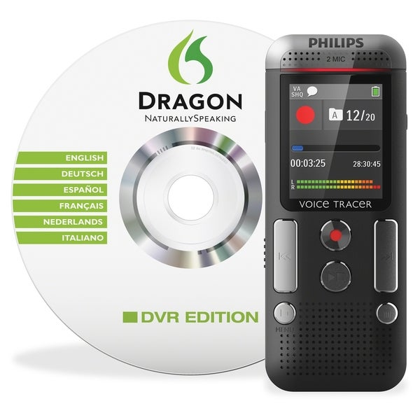 Philips Voice Tracer DVT2700 Digital Voice Recorder