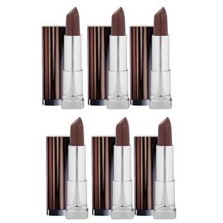 Maybelline New York Color Mocha Chino Sensational Lipstick (Pack of 6)