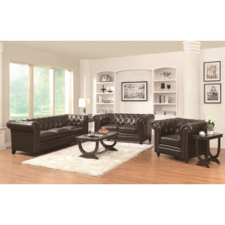 Nelson Leather 3-piece Furniture Collection