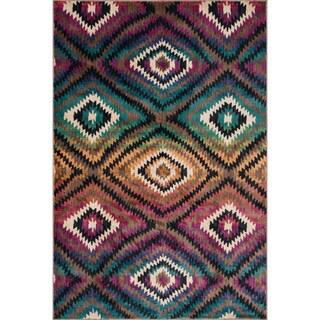 Sadie Diamond Southwestern Rug (7'7 x 10'5)