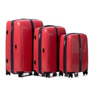 Nautica Landfall 3-piece Hardside Spinner Luggage Set