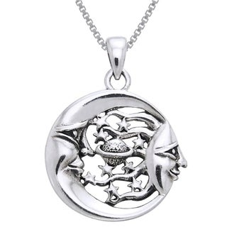CGC Sterling Silver Celestial Necklace