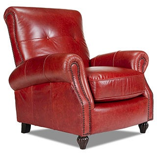 Benjamin Bolero Cherry Leather Press Back Chair