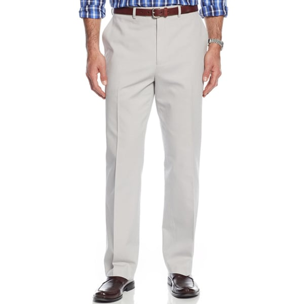 Michael Kors Cotton Twill Stone Men's Chinos