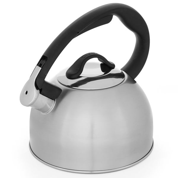 Chantal Rise 2-quart Brushed Stainless Steel Tea Kettle
