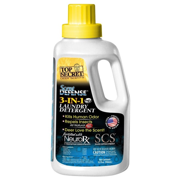 ScentDefense Laundry Detergent 32-ounce