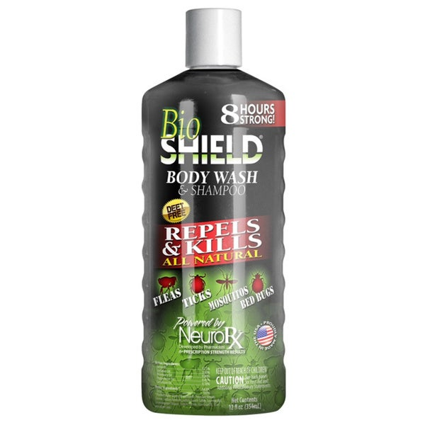 BioShield Body Wash and Shampoo 12-ounce