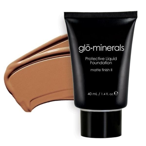 Glo-Minerals Matte II Honey Protective Liquid Foundation