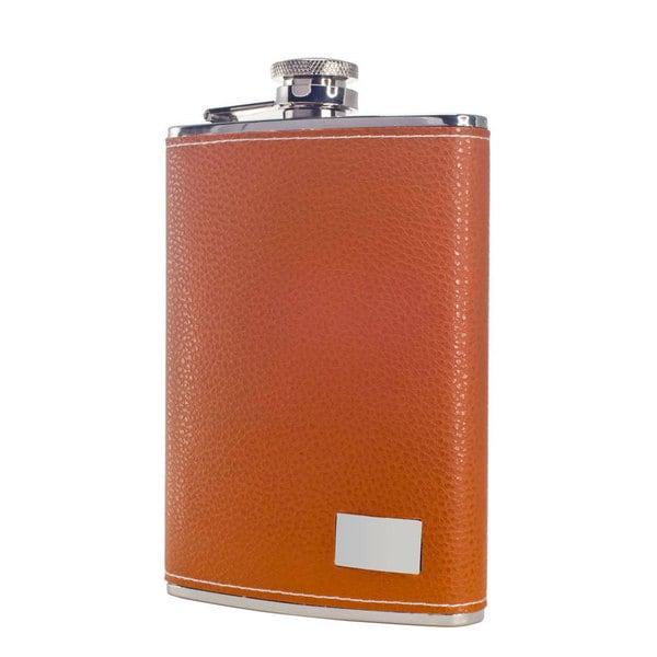Visol Wrangler Tan 8-ounce Liquor Flask 15214331