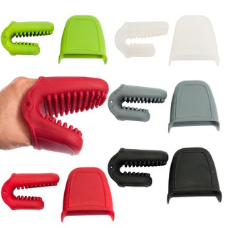 Silicone Mini Oven Mitt/Pot Holders with Nibs (Pack of 2)