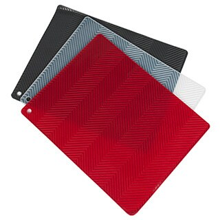 "Ribbed Multi Purpose Silicone Drying Mat/Hot Pad- 15.5""x12"""