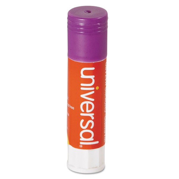 Universal Permanent Purple Glue Stick (2 Packs of 30)