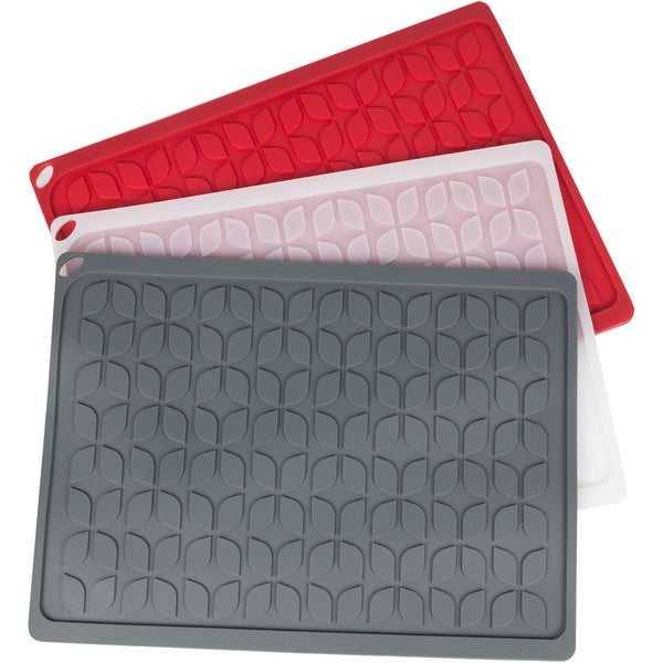 "Multi Purpose Silicone Drying Mat/Hot Pad- 13.5""x10"" available in 3 colors!"