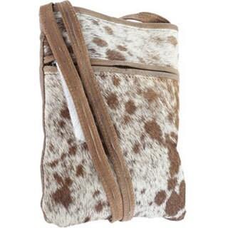 Sharo Small Animal Print Hair Cross Body Bag