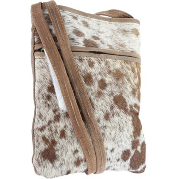 Sharo Small Animal Print Hair Cross Body Bag