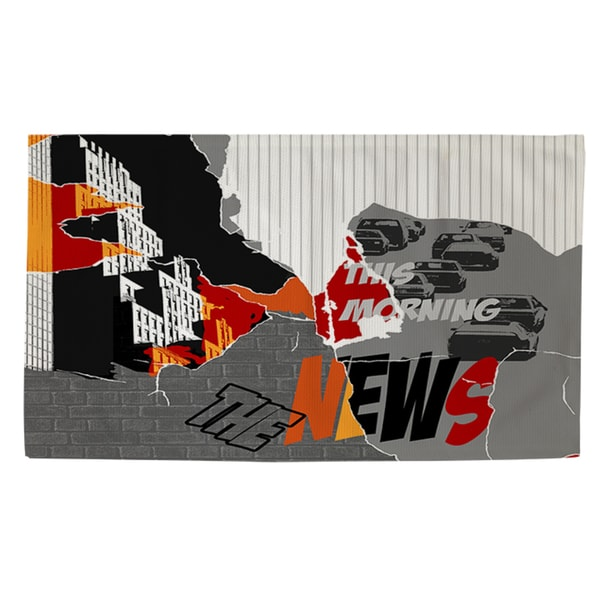 Thumbprintz The News Rug (2' x 3')