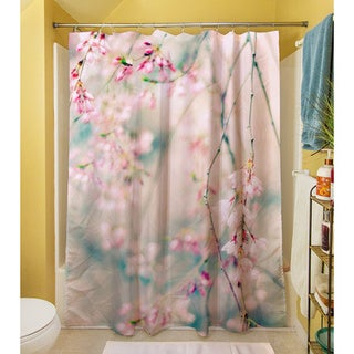 Thumbprintz Weeping Cherry Blossoms Shower Curtain