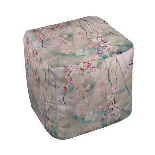 Thumbprintz Weeping Cherry Blossoms Pouf