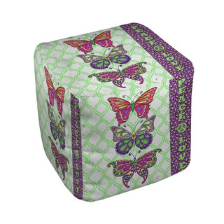 Thumbprintz Tween Butterfly Pouf