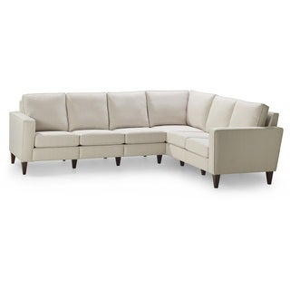 Parker Almond 3-corner 2-piece Sectional